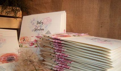 Dandelion Invitaciones y Recuerdos 1