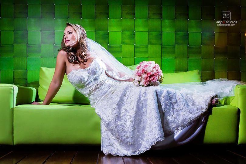 Foto de novia