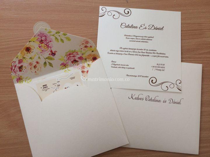 Invitaciones Matrimonio Bucaramanga