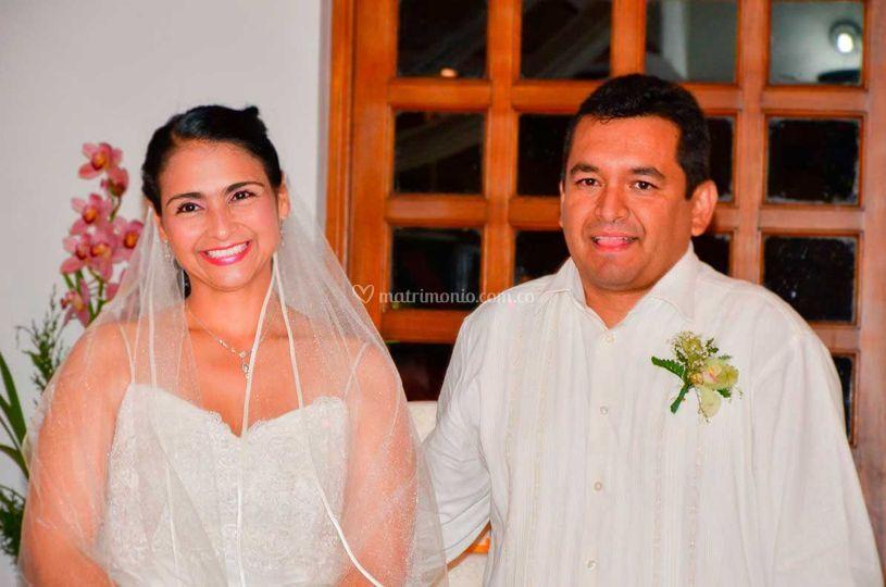 Adriana y Cesar