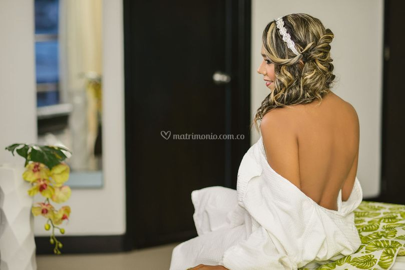 Hairstyling Novia