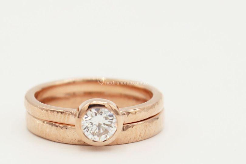 Oro rosado 14k