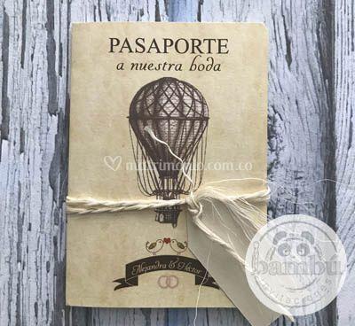 Pasaporte vintage