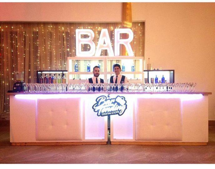 Estación bar clásica