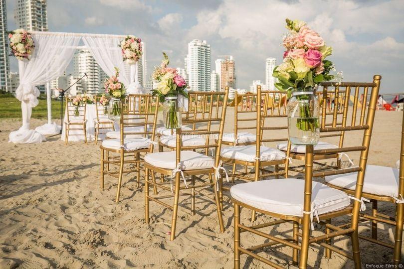 Ceremonia Playa La Marina
