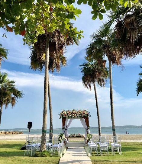 Ceremonia Playa Oasis