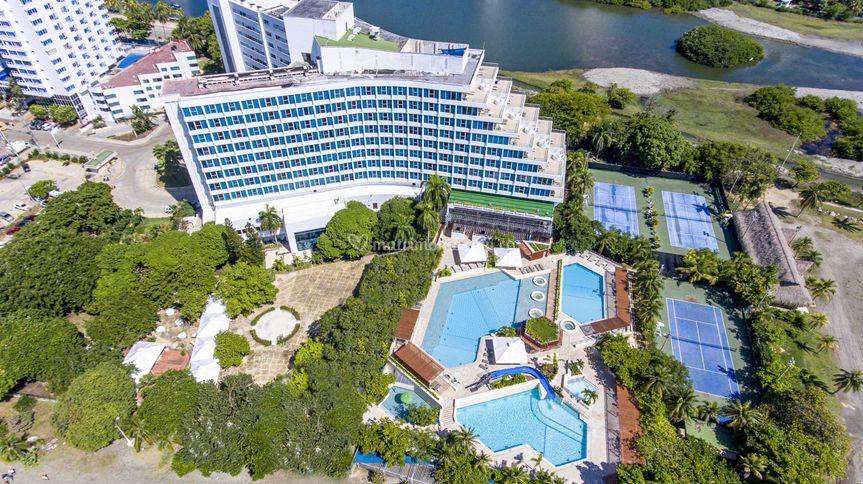 Panoramica Hilton Cartagena.