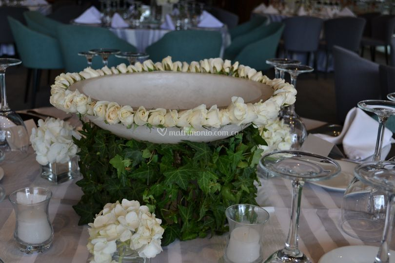 Bowl parafina para velas flota