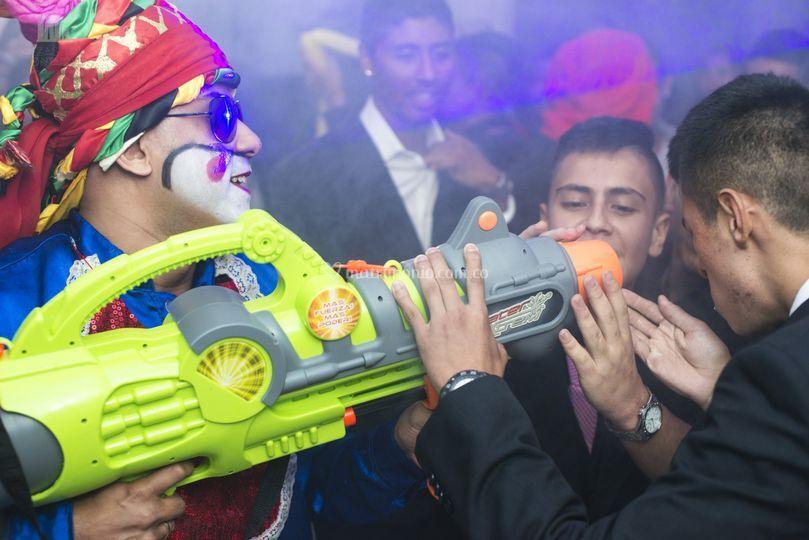 Drink blast-propulsor de licor