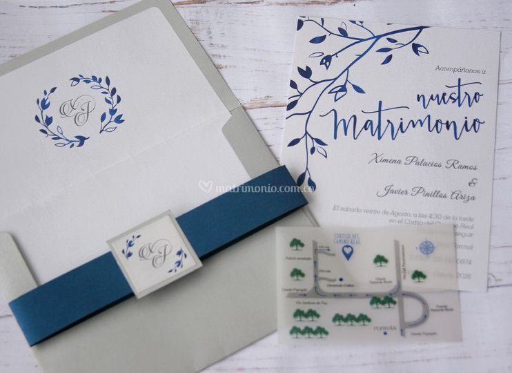 Invitación matrimonio M02