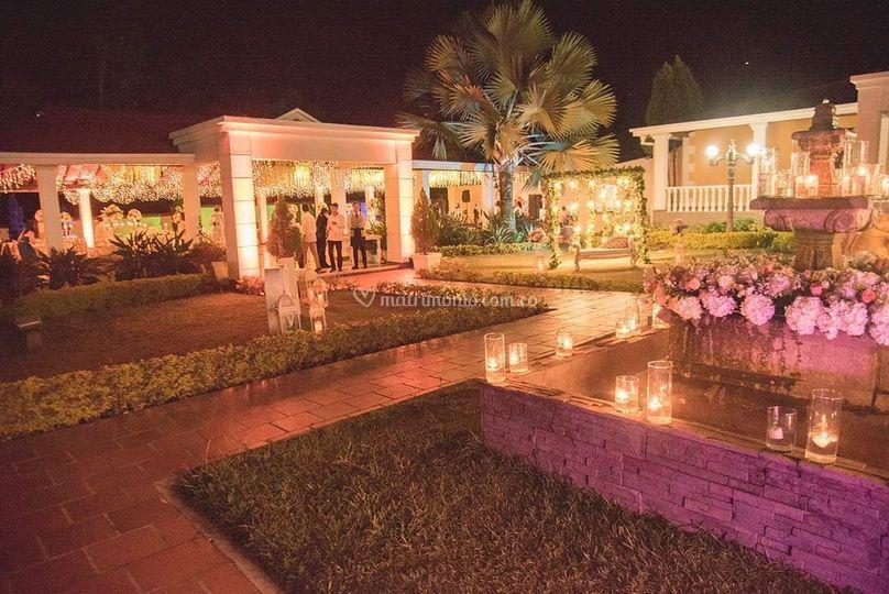 Hermosa hacienda de bodas