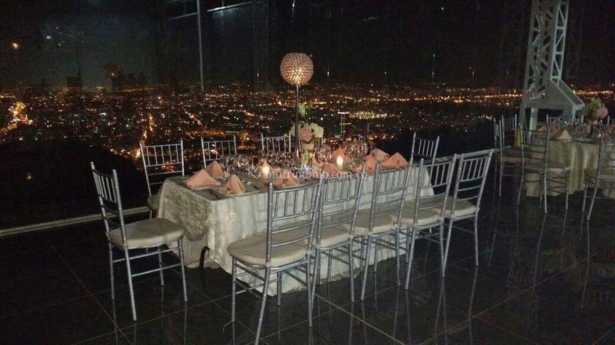 Vista Panorámica sobre Bogota