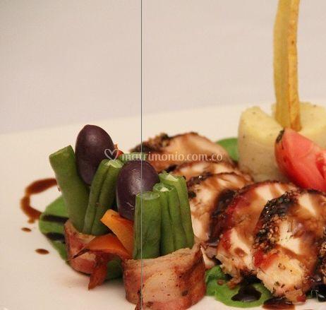 Presentación de platos