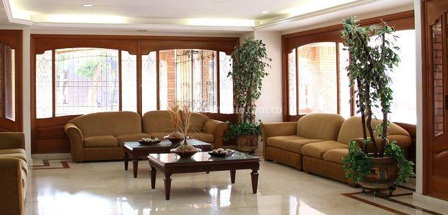 Salón principal hotel