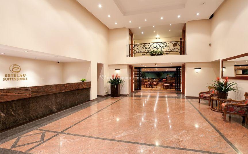 Lobby primer piso