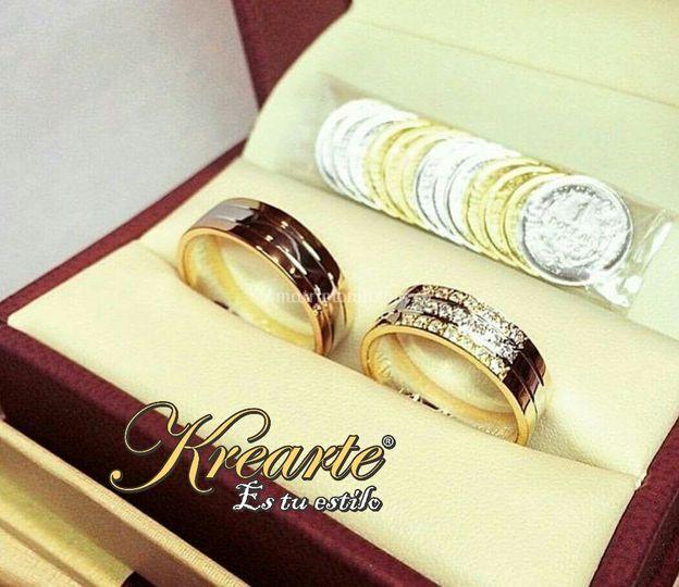 Oro y diamantes