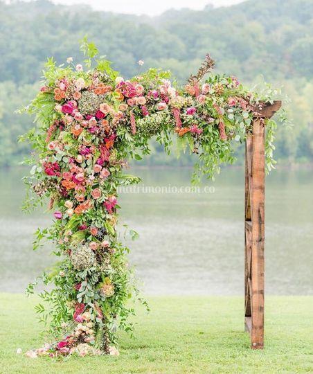 Flores en perfecta sincronía