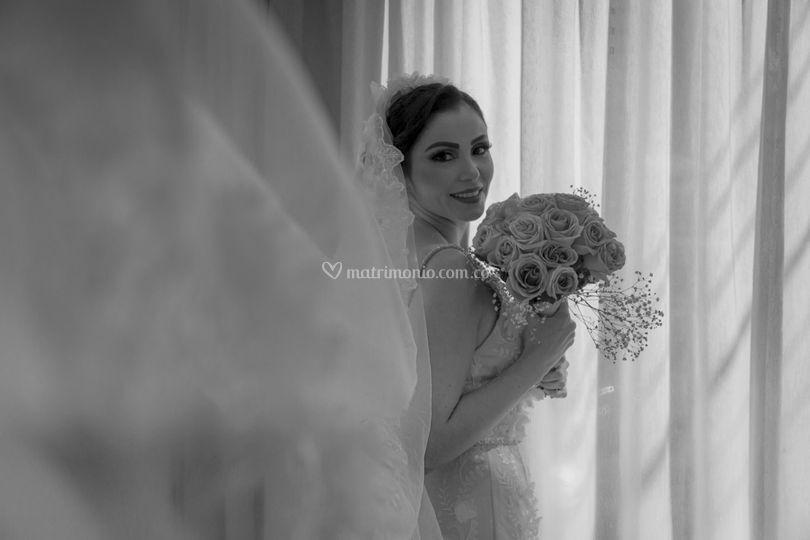 La novia es explendida