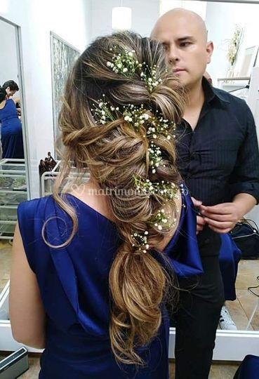 Bello peinado