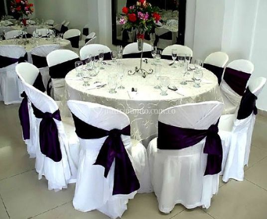 Casa nostra for Mesas de bodas decoradas