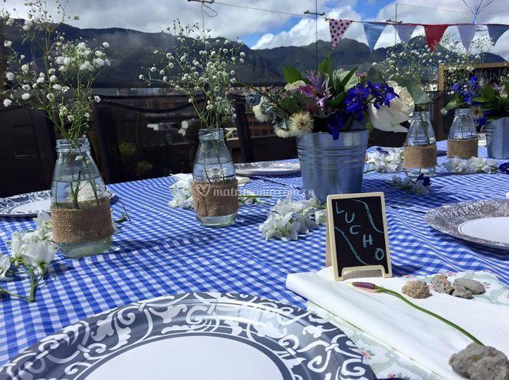 Recepcion matrimonio terraza