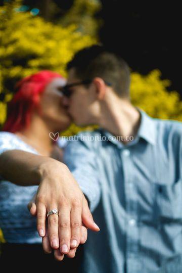 Pre boda en exteriores