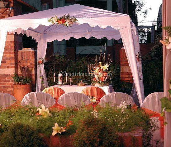 Decoracion lugar de la boda