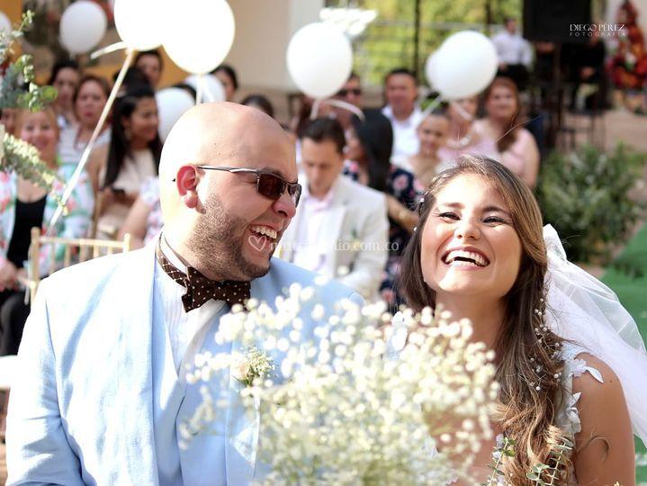 Sonreír en tu boda