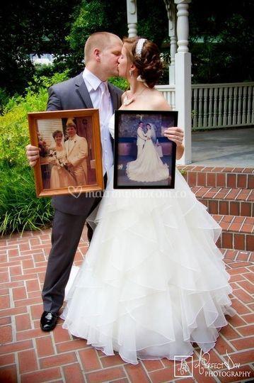 Fotos de sus padres