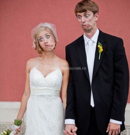 Muecas en pareja