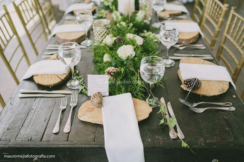 Centros de mesa - boda planes
