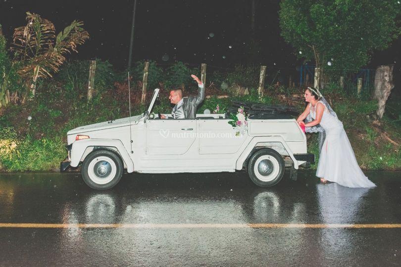 Carro de boda