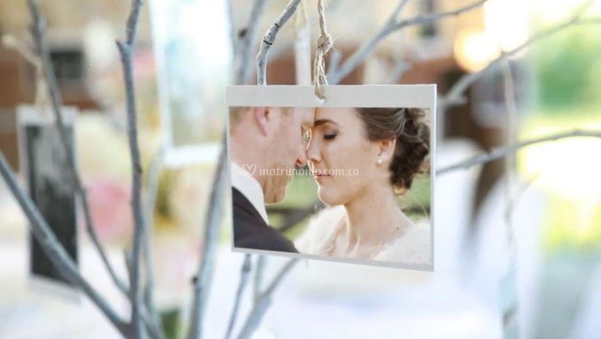 Videos con fotos de tu boda