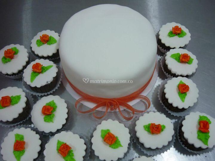 Torta y cup cake
