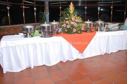 Mesa para buffet