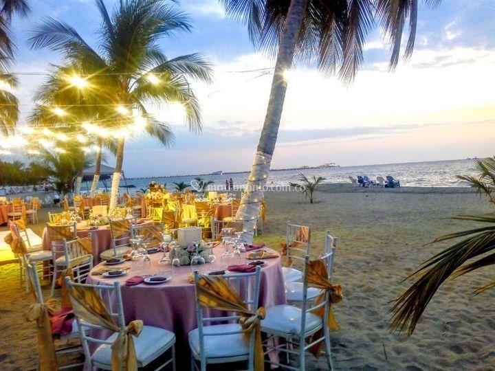 Boda en Playa