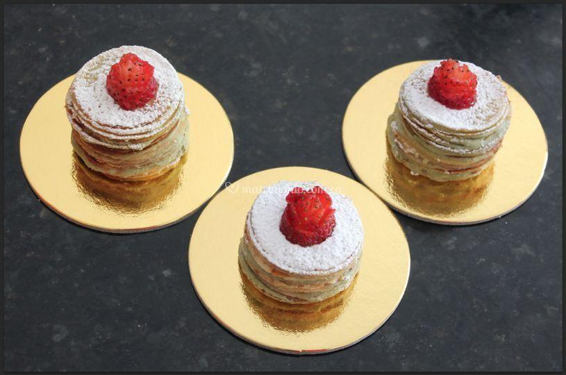 Mini Crêpe Cake
