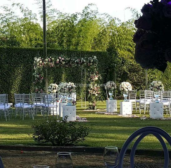 Ceremonia en Nuestro Jardin