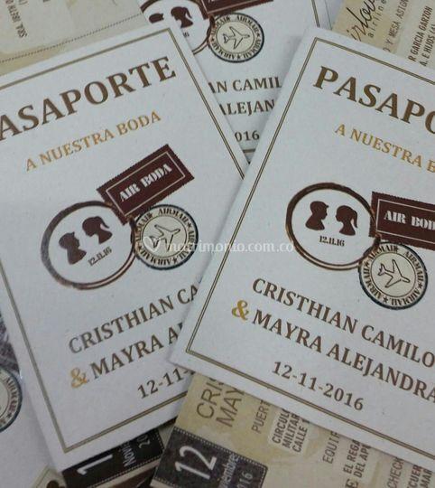 Pasaporte rustico