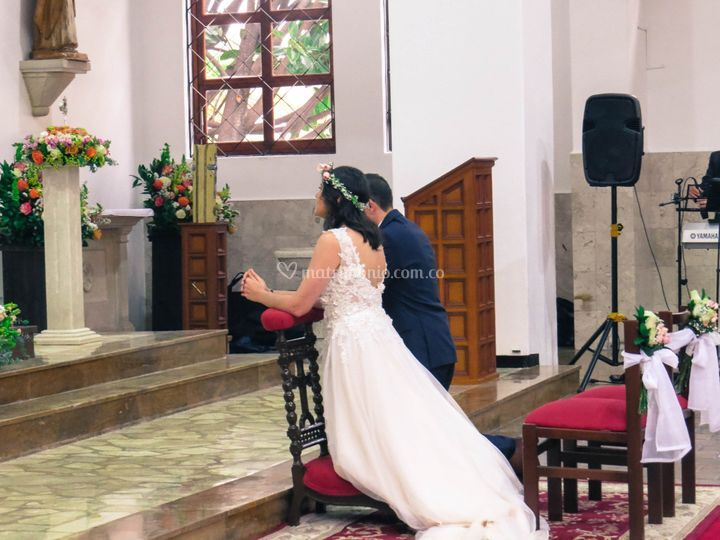 Ceremonia de boda. Matrimonio