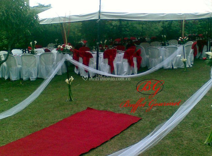 Matrimonio al aire libre