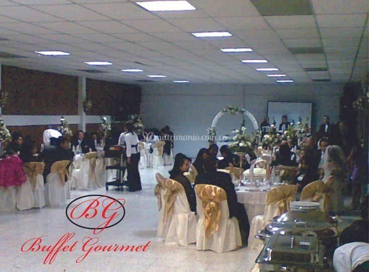 Matrimonio salón