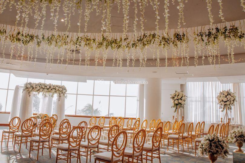 Una boda soñada en cartagena.