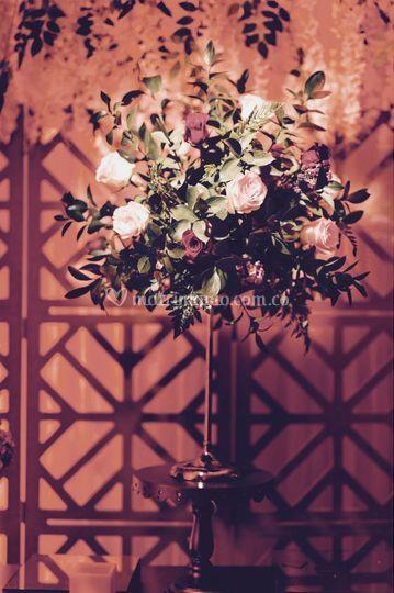 Backdrop + Diseñó floral