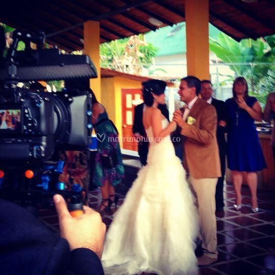 Grabación video boda