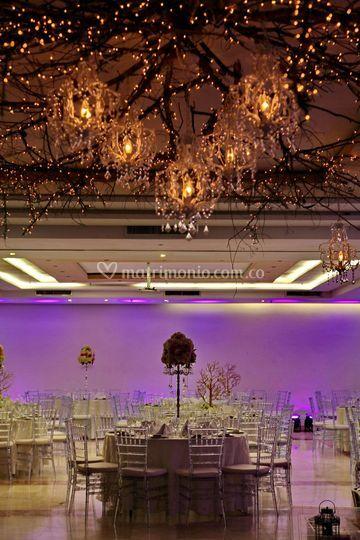 Gran salón decoración