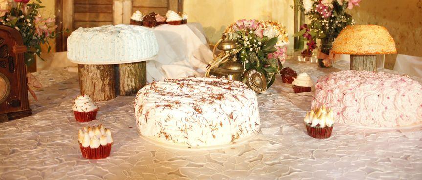 Torta Vintage