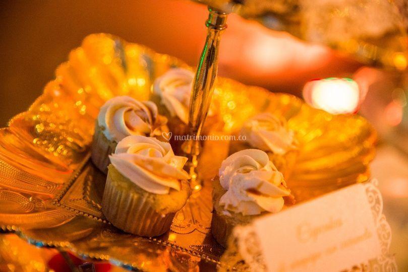 Mini Cupcakes de arequipe