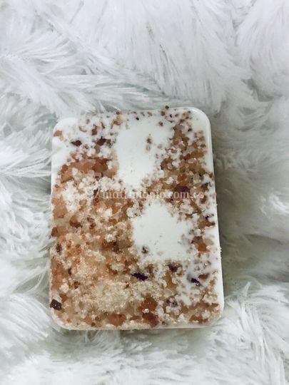 Jabón con sal del Himalaya