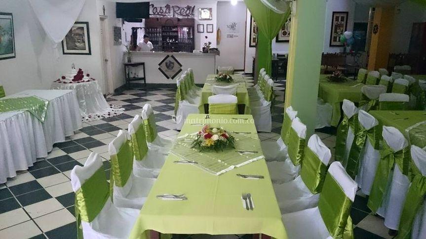 Lugar especial de Restaurante Casa Real